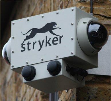 Stryker PoleCat vandálbiztos térfigyelő rendszer vezeték nélkül