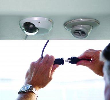 A tömegközlekedés védelme hálózati kamerákkal