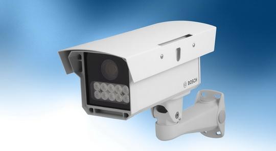 Nagy teljesítményű rendszámtábla-leolvasó eszköz IP-rendszerekhez (Forrás: Bosch Security)