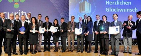 Security Essen 2012 kiállítás díjnyertes biztonságtechnikai termékei