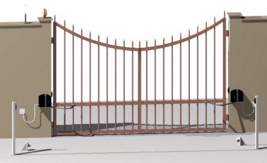 Szárnyas kapuk – kapumozgatók 1. rész