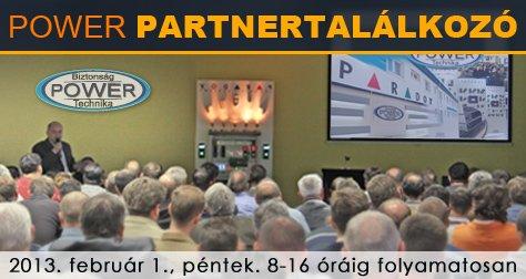 Meghívó Power partnertalálkozóra