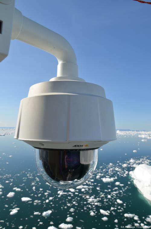 Axis IP-kamera a McClure-szoroson át