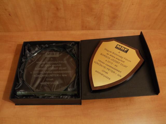 A Borsos József-díj