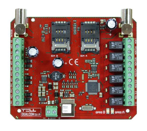 Dualcom SIA IP tűzjelzésátvivő eszköz