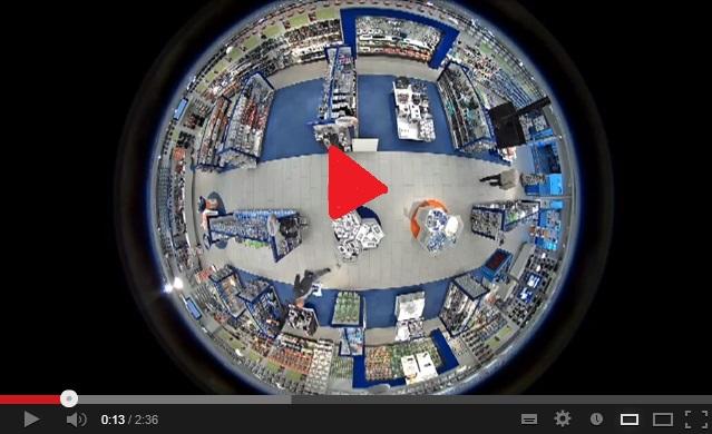 Axis M3025-VE hálózati kamera, Axis M3024-LVE hálózati kamera videó