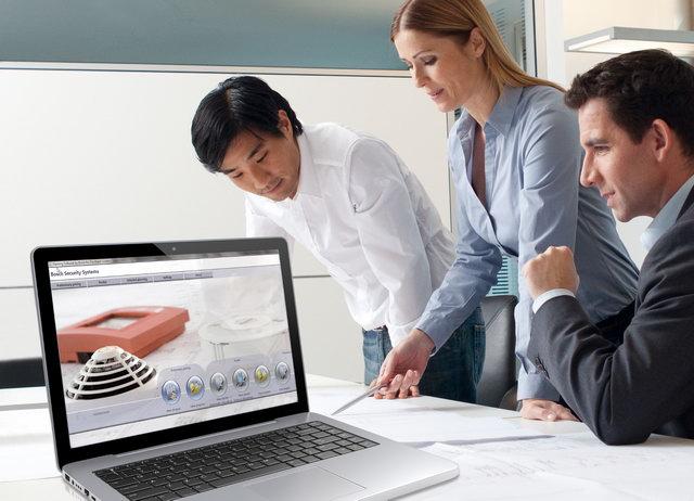 Bosch Fire Systems 4.1. tűzjelző rendszer tervező szoftver