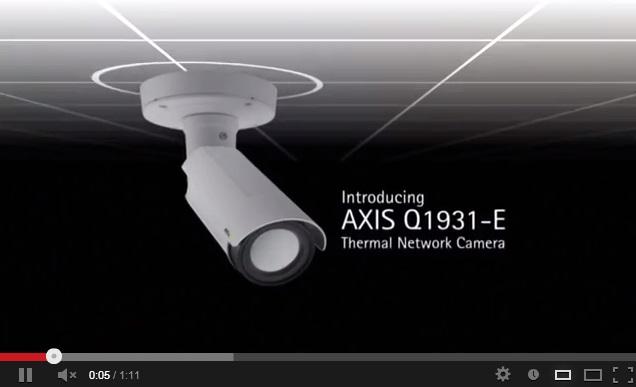 Axis Q1931-E hálózati hőkamera