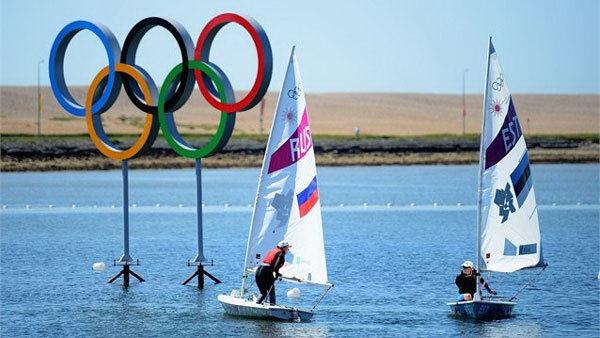 Az év telepítése az Ifsecen: a Londoni Olimpia vitorlásversenyeinek térfigyelő rendszere (www.yachtsandyachting.co.uk)
