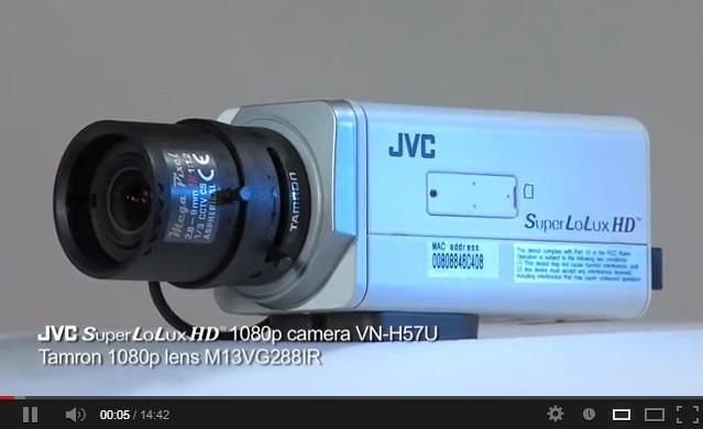 JVC a biztonságtechnikában