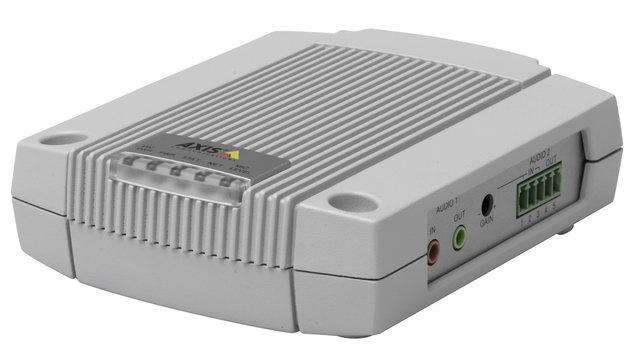 Hangátvitel Axis IP-kamerával