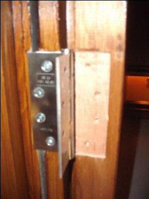 Hogyan nem szabad beépíteni tűzgátló ajtót