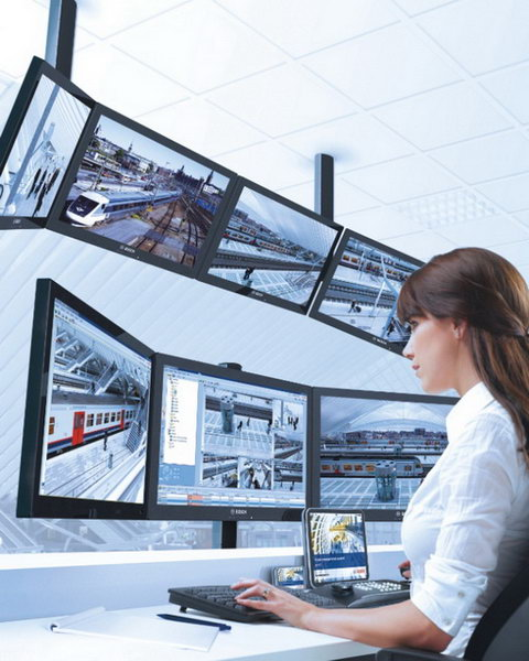 Bosch IP-alapú videomegfigyelő rendszer