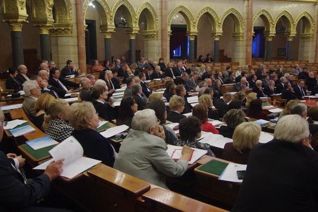 A Magyar Szakmai Kamarák Szövetsége konferenciája
