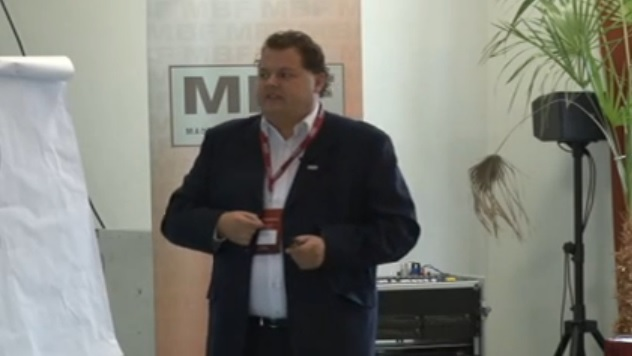 Noth Péter előadása az áruvédelemről a III. MBF konferencián