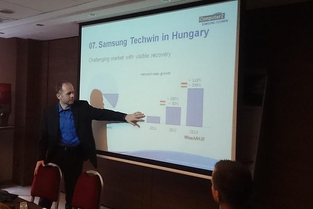 Samsung Techwin megállapodás az Aspectis-szel