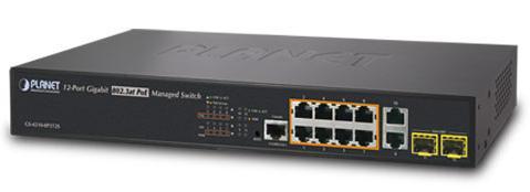 Új menedzselt 802.3at PoE+ switch-ek a Planettől