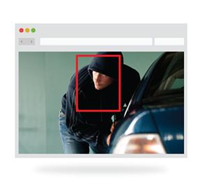 Avigilon Adaptív Videó Analitika a DSC forgalmazásában