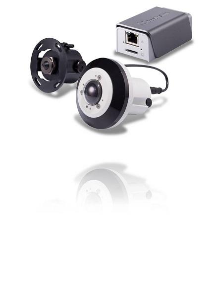 Rejthető FullHD IP kamerák FishEye és Pinhole optikával