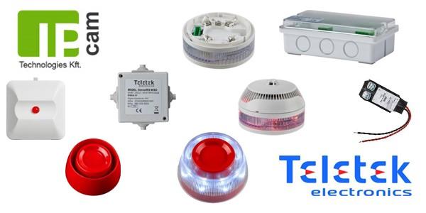 TELETEK: új szín az intelligens tűzjelző rendszerek palettáján Forrás: IP Cam Technologies