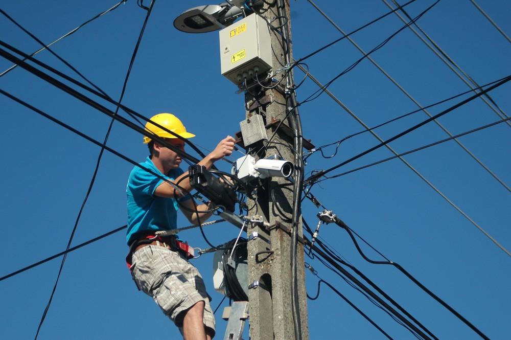 A kisváros és a világszínvonalú CCTV harmóniája Forrás: : LDSZ Kft