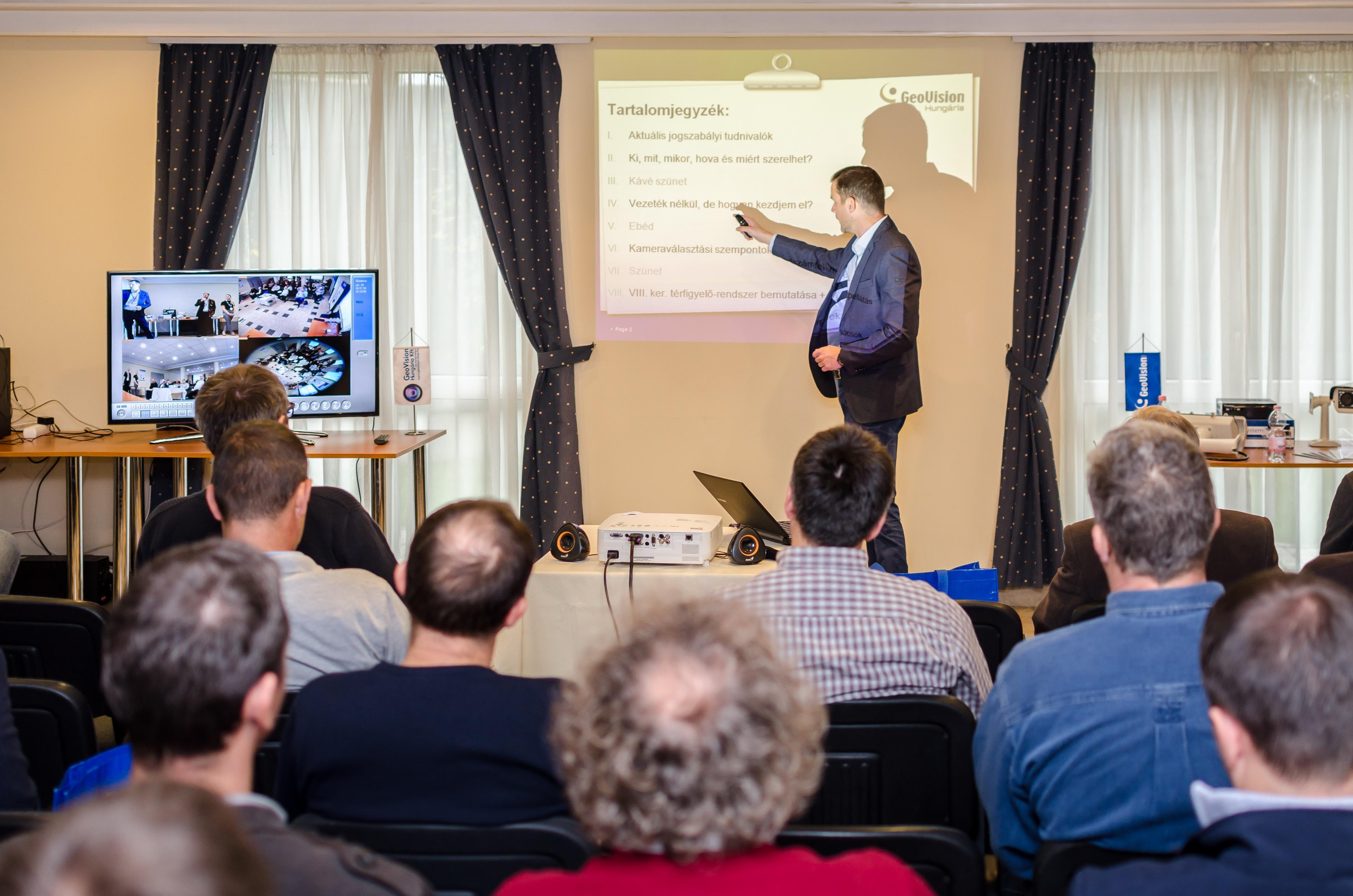 Beszámoló a GeoVision Hungária Kft közterületi térfigyelés konferenciájáról Forrás: GeoVision Hungária Kft