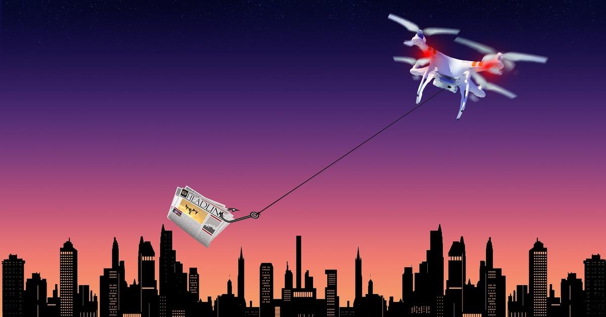 Drón kresz