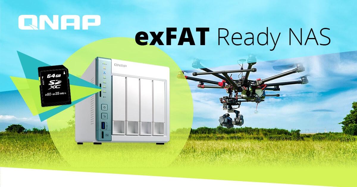QNAP ExFAT - 4K korszakra hangolva