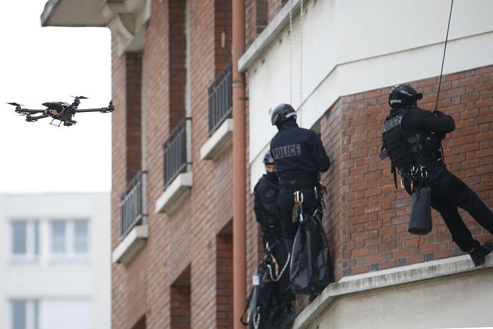 """Végre Magyarországon is elérhető közelségbe került a """"drón jogszabály"""" – Gondolatok a tervezet margójára egy szakember tollából Forrás: Thomas Samson. Europress/AFP"""