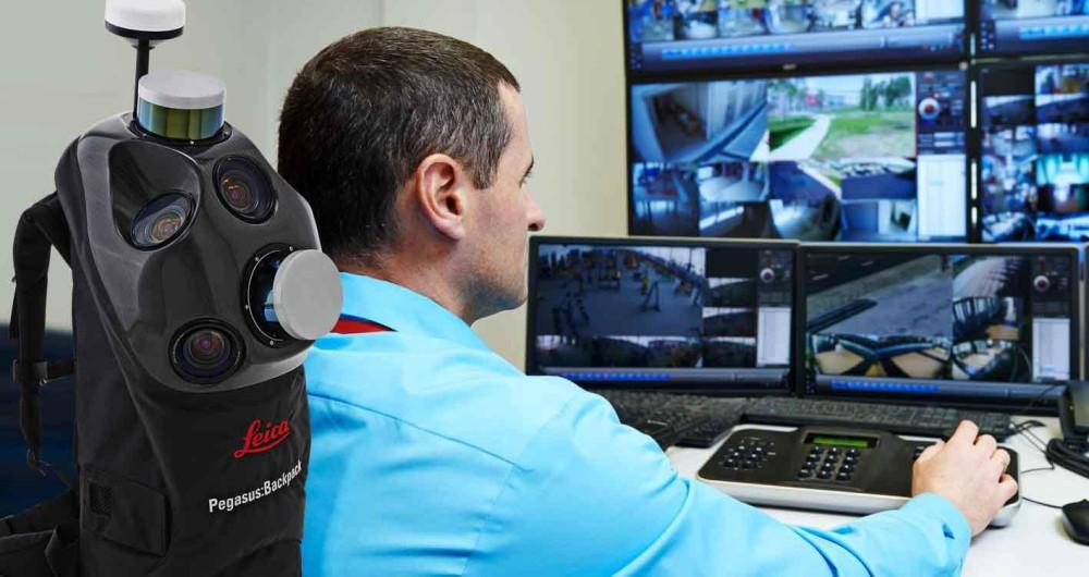 3D pontfelhő technológia a biztonság szolgálatában Forrás. Leica geosystems