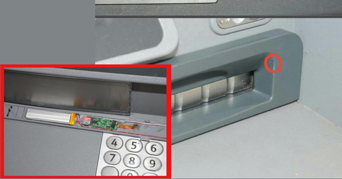 Nocsak! Ki lesi meg a PIN kódod? Forrás: https://www.independent.co.uk/news/uk/home-news/london-atms-tiny-cameras-hidden-video-cash-machines-pin-number-city-police-a7633336.html