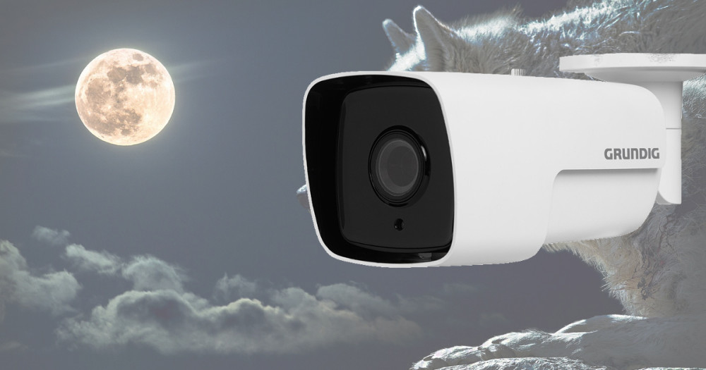 Új, ultra alacsony fényérzékenységű IP CCTV kamera a GRUNDIG kínálatában Forrás: LDSZ Kft