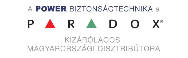 PARADOX termékek, kizárólag a POWER – től. Forrás: POWER Kft