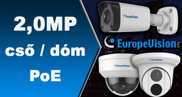 EuropeVision IP kamerák