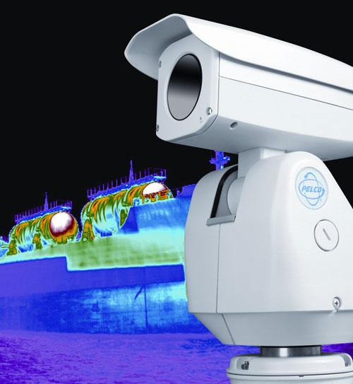 Az IFSEC-díj győztes kamerája (Forrás: Schneider Electric)