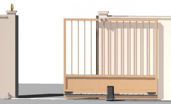 Gördülő kapuk, toló kapuk – kapumozgatók 2. rész