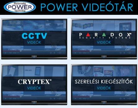 Biztonságtechnikai videótár