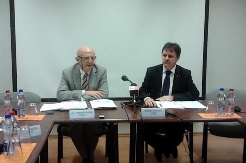 Dr. Dános Valér és Német Ferenc