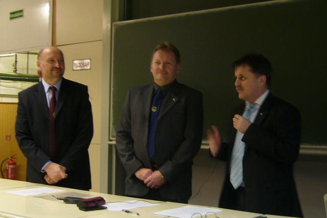 Dr. Horváth Sándor, Dr. Kovács Tibor, Német Ferenc