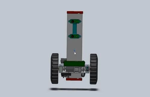 tűzvédelmi felderítő robot