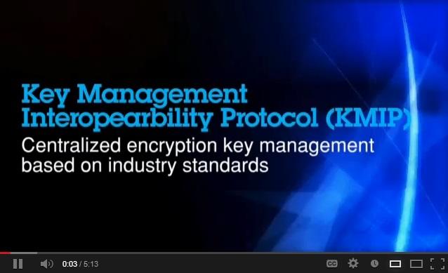 Adatvédelem a felhőben (Key Management Interoperability Protocol, KMIP)