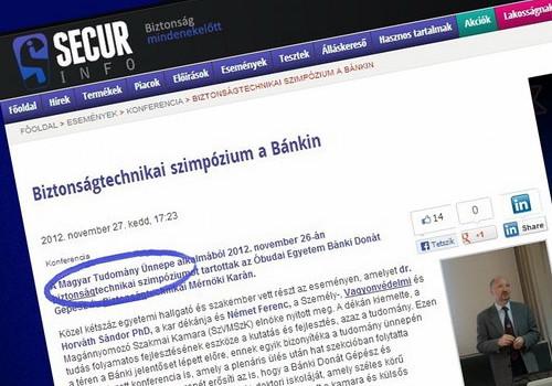 Felhívás szakmai előadóknak a Magyar Tudomány Ünnepére