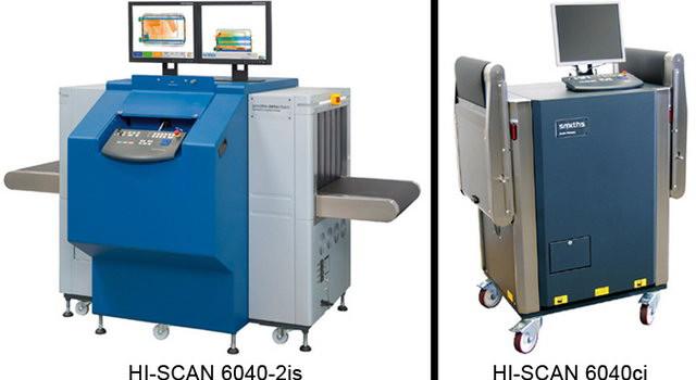 Smiths Heimann HI-SCAN 6040-2is és HI-SCAN 6040ci csomagvizsgáló röntgen