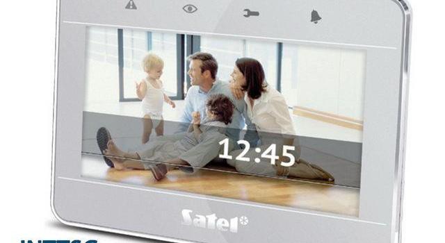 Satel INT-TSG érintőképernyős kezelő