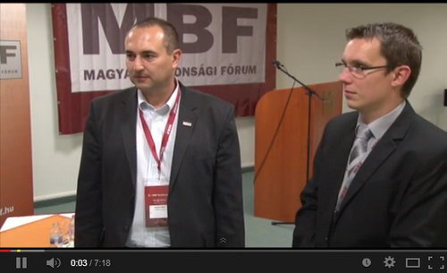 Molnár Gábor, az L-Tender Consulting ügyvezetője, és dr. Pataki Gábor, adatvédelmi szakjogász