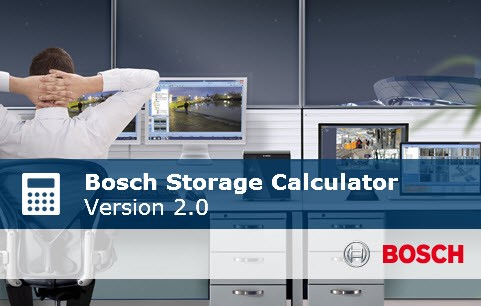 Adattárolási kapacitás kalkulátor a Boschtól