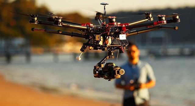 Drón használat