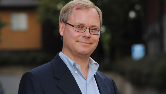 Martin Gren, az Axis Communications AB társalapítója (Forrás securityworldhotel.com )