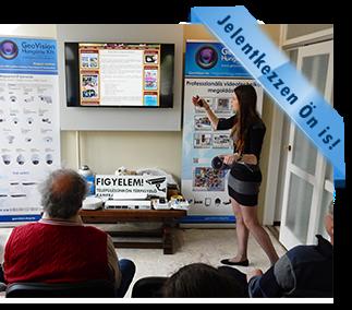 GeoVision májusi oktatás, téma a térfigyelés