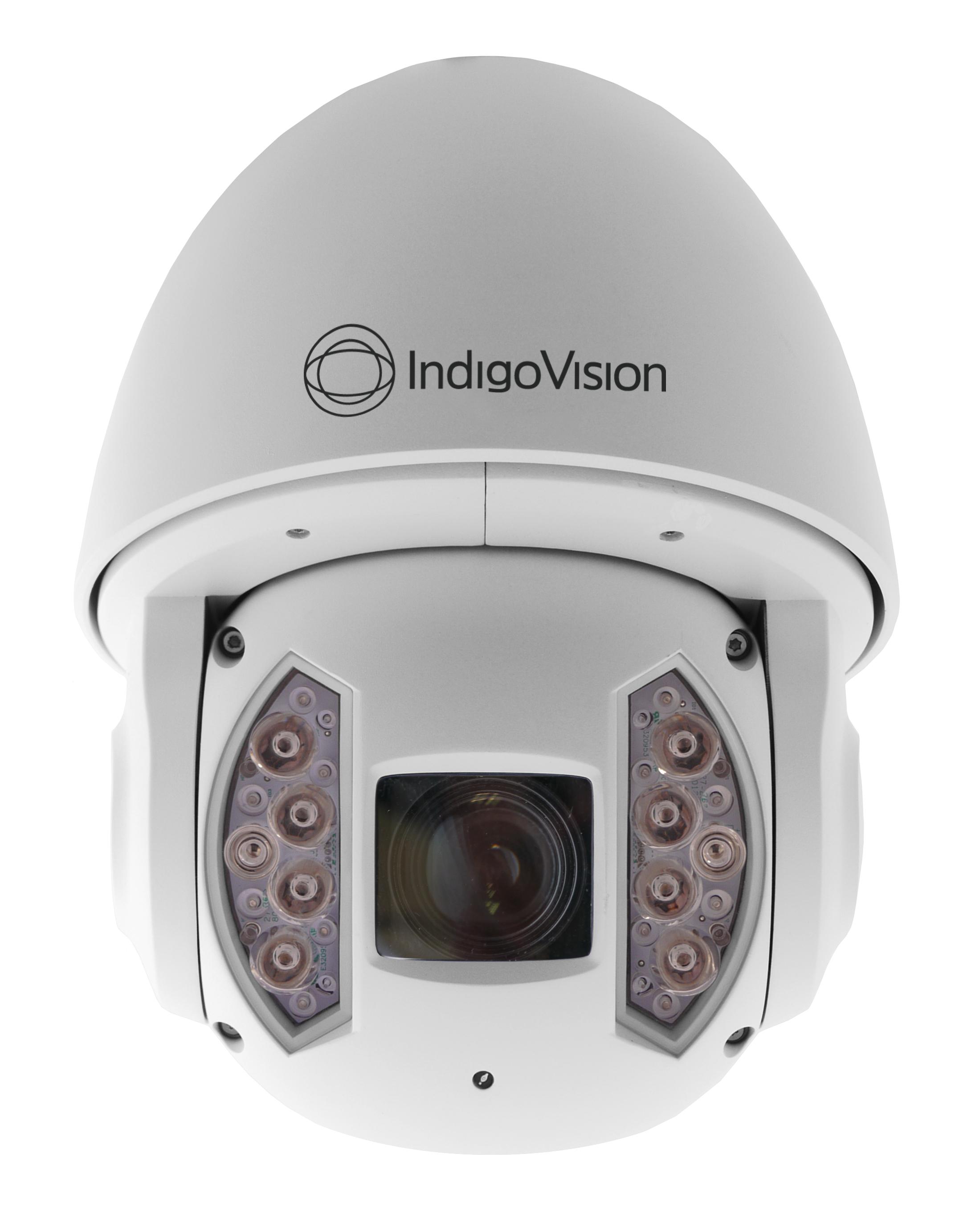 Az IndigoVision új adaptív IR gyorsdómja Forrás: IndigoVision